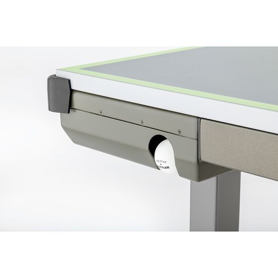 """Kettler® """"Outdoor 10"""" Table Tennis Table Umber/green"""