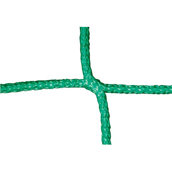 Knotless Net for Men's Football Goals Green