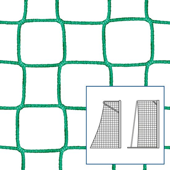 Knotless Net for Small Pitch and Handball Goals Green, 5 mm