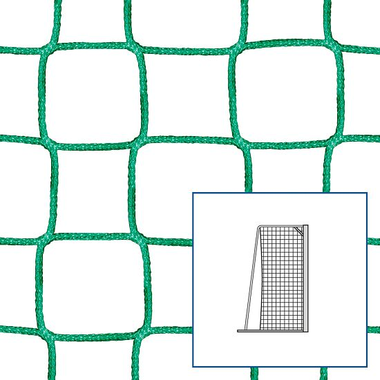 Knotless Net for Small Pitch and Handball Goals Green