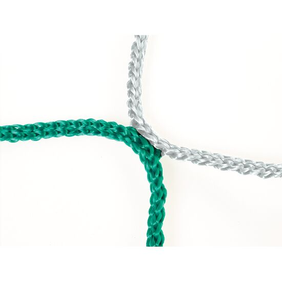 Knotless Net for Youth Football Goals Green/white