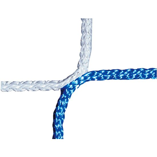 Knotless Youth Football Goal Net, 515x205 cm Blue/white