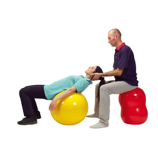 Ledraplastic Physio Roll ø 40 cm, red, L: 65 cm