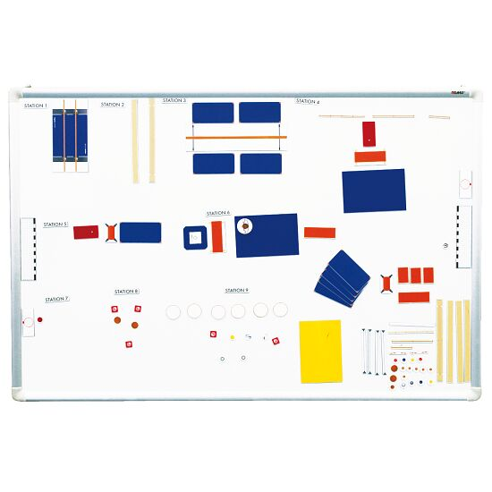 Magnetic Sports Hall 100 Set A