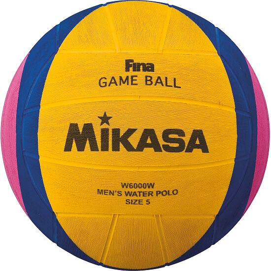 "Mikasa ""W6000W"" and ""W6009W"" Water Polo Ball W6000W/men"