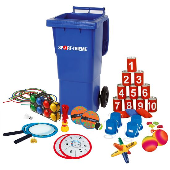 Mini Games Bin with Contents