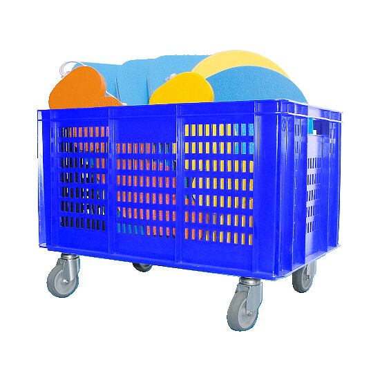 Mobile Storage Basket 60x40x42 cm
