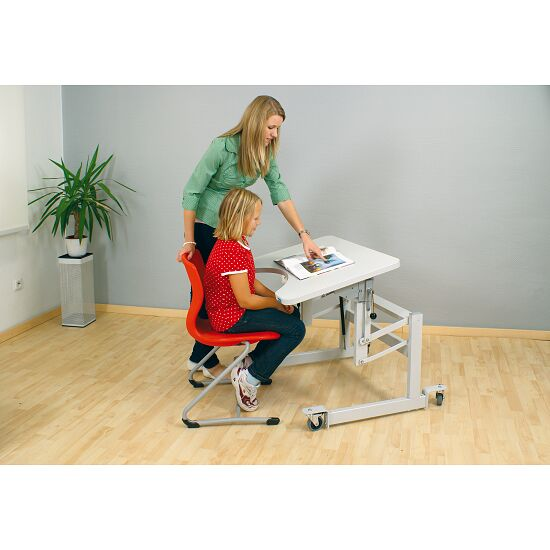 "Möckel ""ergo S 52 R"" Therapy Table Screw feet, Light grey"