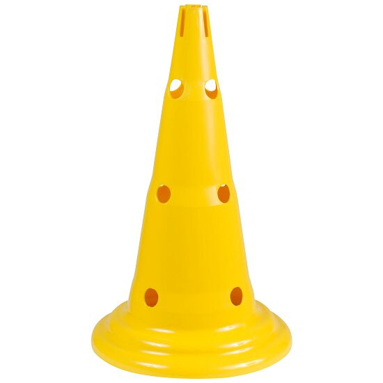 Multi-Purpose Cones Yellow, 50 cm, 12 holes
