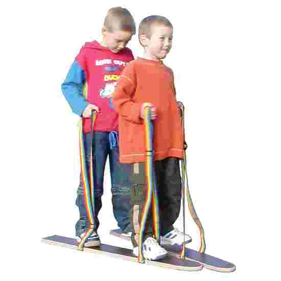 """Pedalo """"Hand/Foot Loop"""" Dry Skis Length 80 cm, for 2 people"""