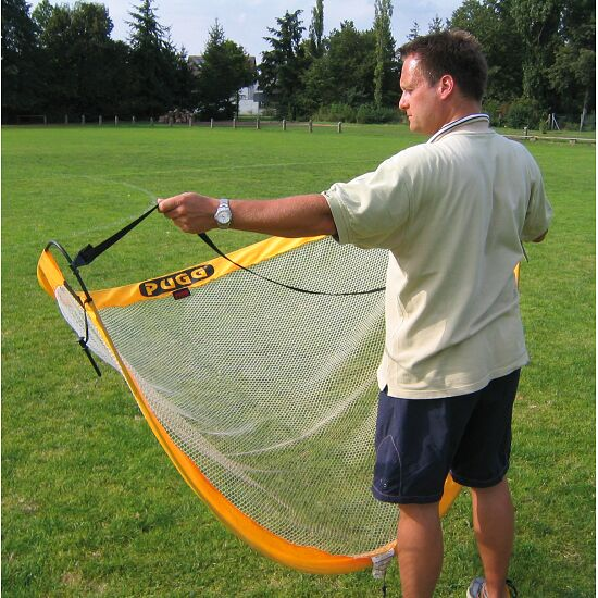 "Pugg ""Pop Up"" Football Training Goals Yellow, 183x107x107 cm"