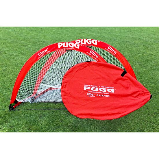 "Pugg ""Pop Up"" Football Training Goals Red, 152x91x91 cm"