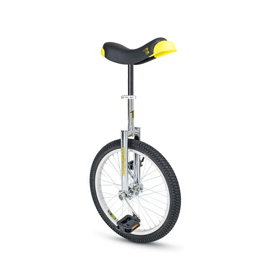 """Qu-Ax """"Luxus"""" Outdoor Unicycle 20-inch tyre (ø 51 cm), chrome frame"""
