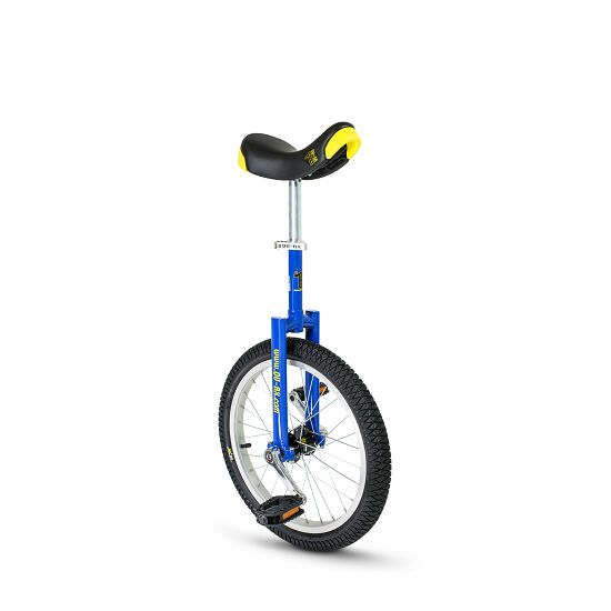 """Qu-Ax """"Luxus"""" Outdoor Unicycle 18-inch tyre (ø 46 cm), blue frame"""