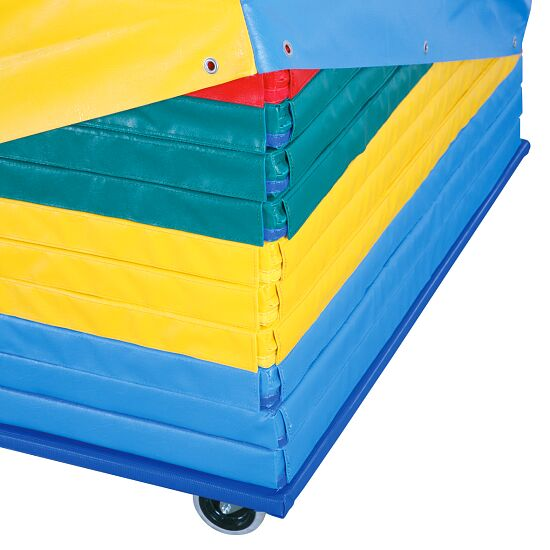 "Reivo® ""Safety"" Combination Gymnastics Mat Set incl. Trolley"