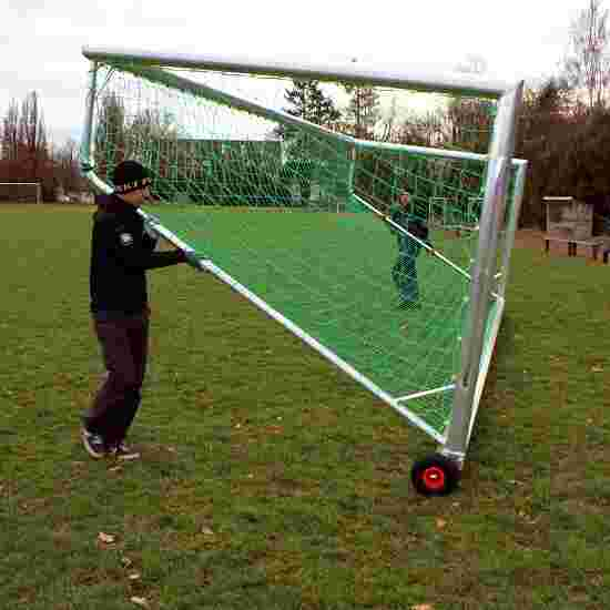 """Safety"" Anti-Tipping Safeguard for Full-Size Goals For 7.32x2.44-m goals, 1.5-m lower goal depth, Square tubing, 80x40 mm"