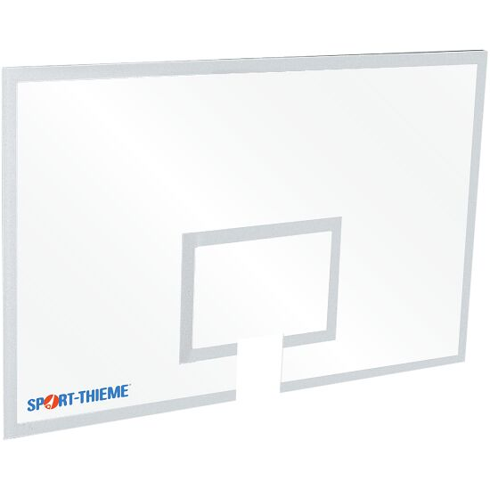 Safety Glass Basketball Backboard 180x120 cm, 12 mm