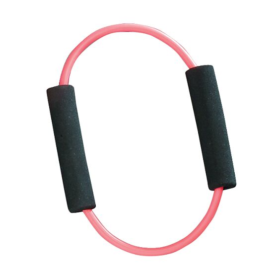 Set of 10 Sport-Thieme® Fitness Tube Rings Pink = medium