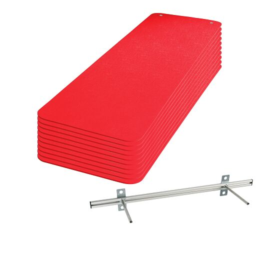 "Set of Sport-Thieme ""Fit & Fun"" Exercise Mats Red"