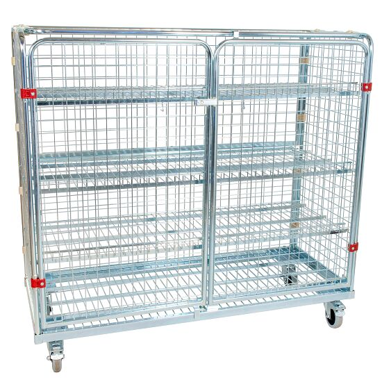 Shelved Trolley Without additional railing, 150x140x62 cm
