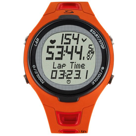"""Sigma® """"PC 15.11"""" Heart Rate Monitor Red"""