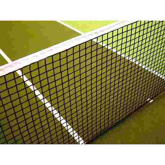 Single-Row Tennis Net with Tensioning Rope at Bottom