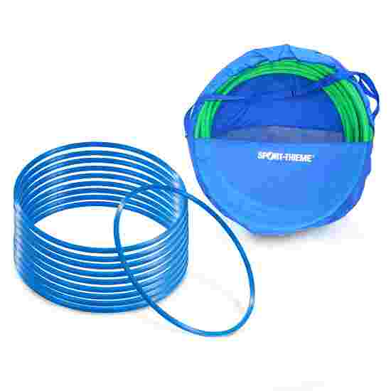 "Sport-Thieme ""ø 50 cm"" Set with Storage Bag Gymnastics Hoops Blue"