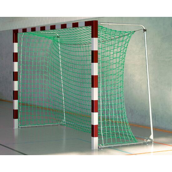 Sport-Thieme 3x2 m, in ground sockets, with patented corner joints Indoor Football With folding net brackets, Red/silver