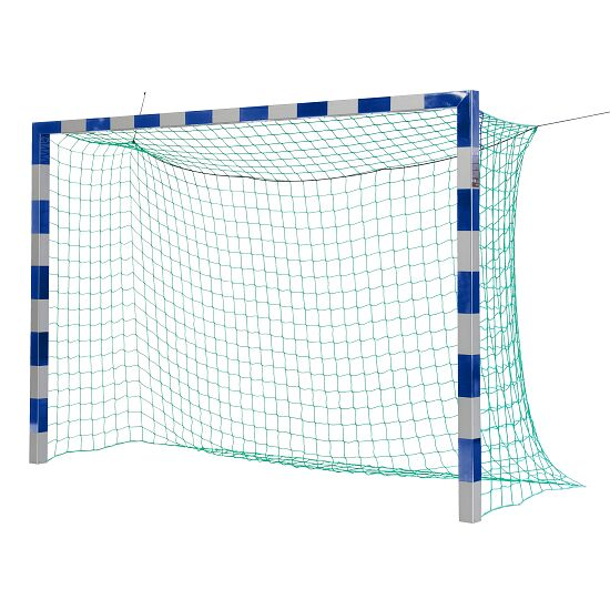 Sport-Thieme 3x2 m, in ground sockets, with patented corner joints Indoor Football Without net brackets, Blue/silver