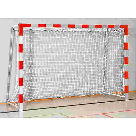 Sport-Thieme 3x2 m, standing in ground sockets Indoor Handball Goal Bolted corner joints, Red/silver