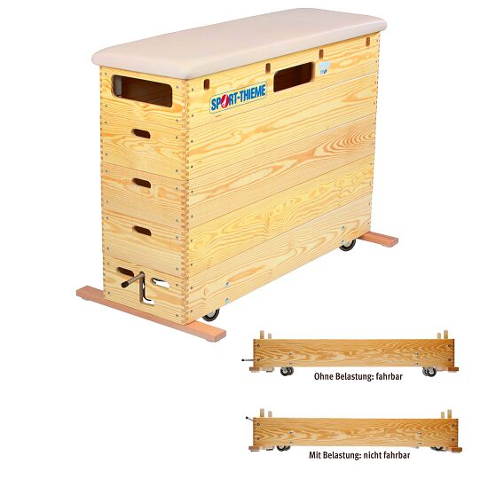 """Sport-Thieme 5-Part """"Original"""" Vaulting Box With safety moving device"""