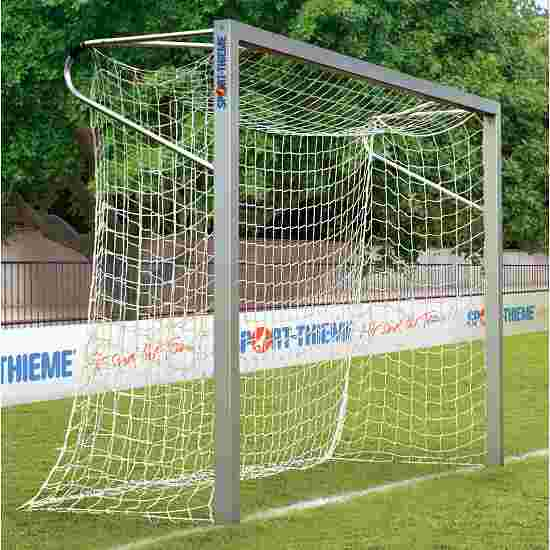 Sport-Thieme aluminium small pitch goal, 3x2 m, square tubing, free-standing or fitted into ground sockets In ground sockets