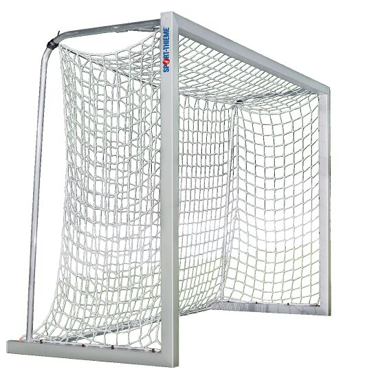 Sport-Thieme aluminium small pitch goal, 3x2 m, square tubing, free-standing or fitted into ground sockets Free-standing