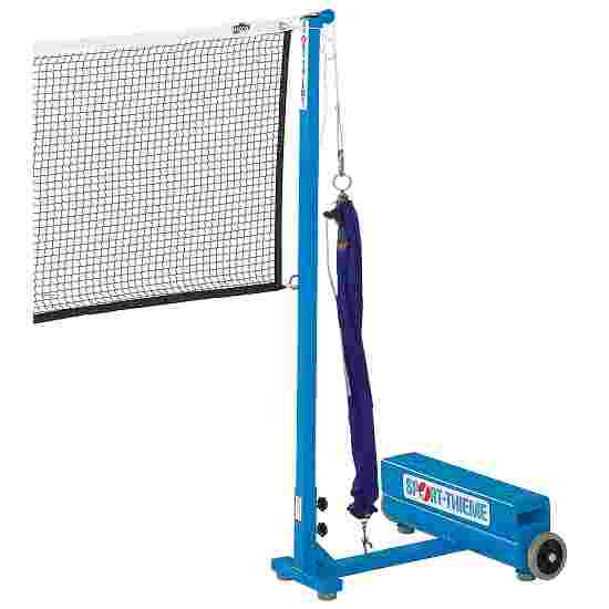 Sport-Thieme Badminton Posts with Additional Weights Pulley tensioning system