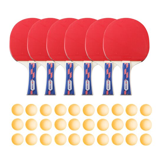 "Sport-Thieme ""Champion"" Table Tennis Set for Schools and Clubs Orange balls"