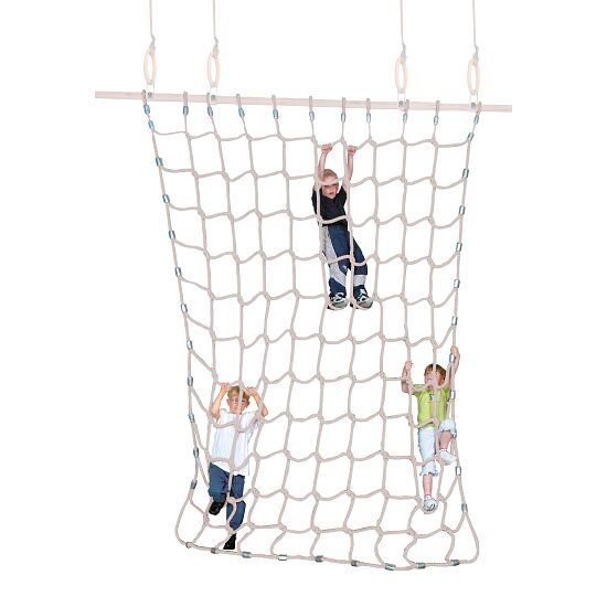 Sport-Thieme® Climbing Net Soft spinning fibre, natural colours, 3x2.5 m