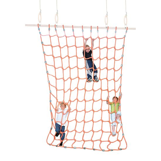 Sport-Thieme® Climbing Net Polypropylene, orange, 3x2.5 m