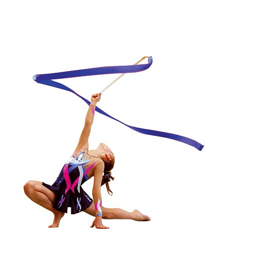 Sport-Thieme® Competition Gymnastics Ribbon Competition, 6 m long, Cornflower blue