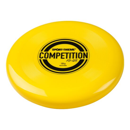 """Sport-Thieme® """"FD-125 Competition"""" Throwing Disc Yellow"""