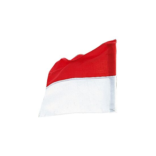 Sport-Thieme® Flag for Boundary Poles up to ø 30 mm Red/white