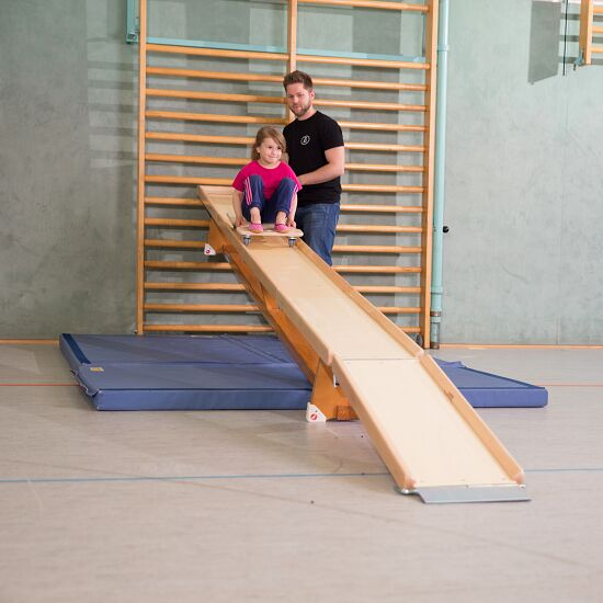 "Sport-Thieme® ""Flizzer"" Roller Board Track For the 3-m gymnastics bench"