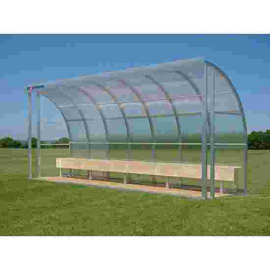 Sport-Thieme for 10 People Dugout Seat, Polycarbonate
