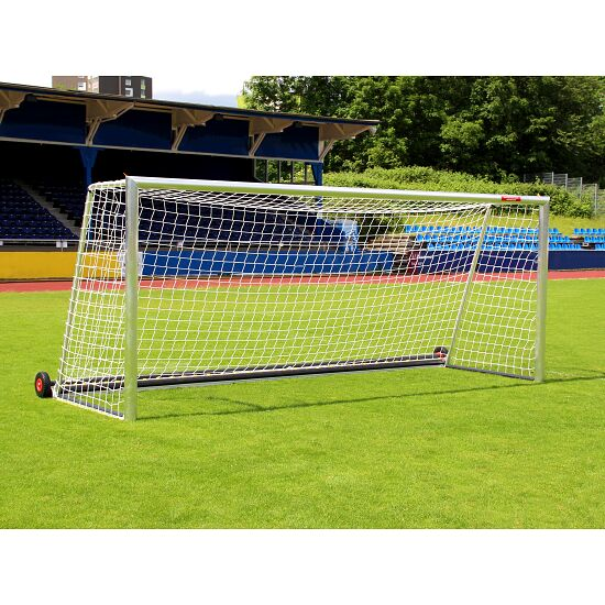 """Sport-Thieme® Fully Welded, """"Safety"""" Full-Size Football Goal with PlayersProtect"""