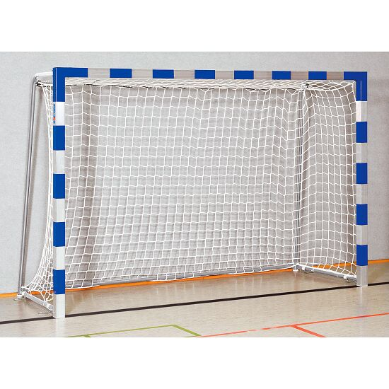 Sport-Thieme® Handball Goal 3x2 m, stands in ground sockets Welded corner joints, Blue/silver