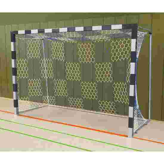 Sport-Thieme Handball Goal Welded corner joints, Black/silver