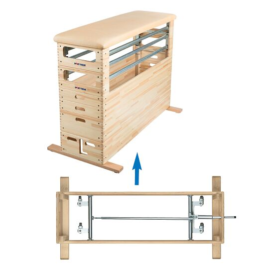 Sport-Thieme Kombi Vaulting Box Set With swivel castor feature