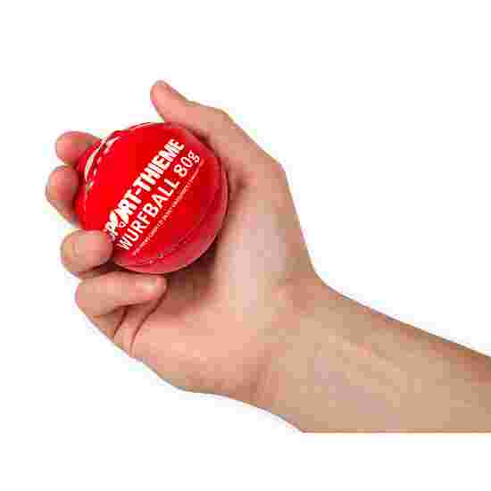 """Sport-Thieme """"Leather 80"""" Throwing Ball Red"""