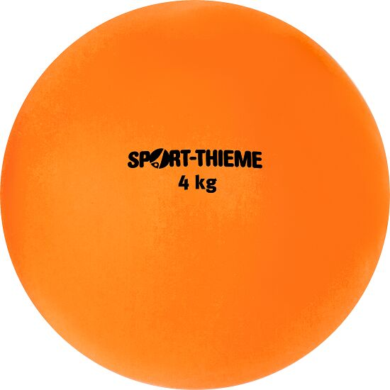 Sport-Thieme® Plastic Shot Put 4 kg, orange, ø 134 mm