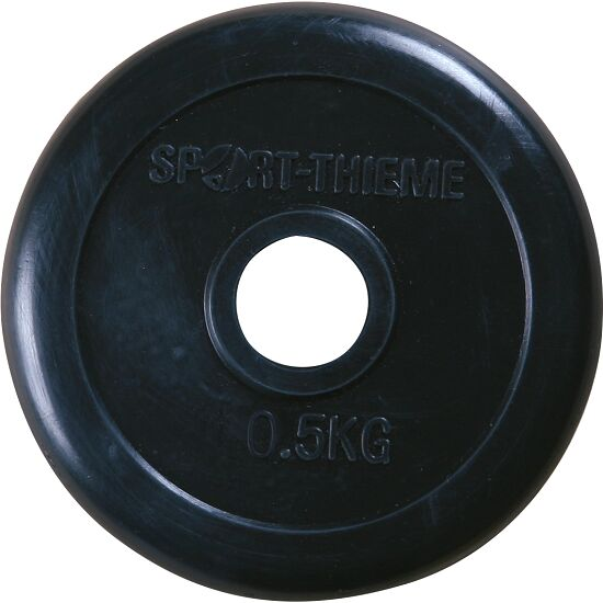 Sport-Thieme Rubber-Coated Weight Disc 0.5 kg