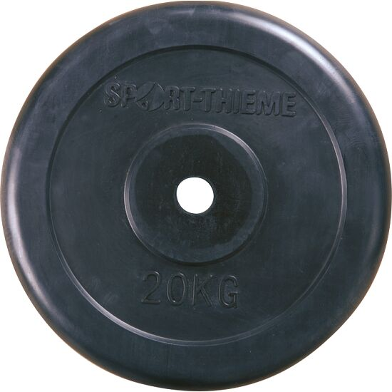 Sport-Thieme® Rubber-Coated Weight Disc 20 kg